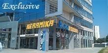 BGA KERAMIKA - Prodajni salon Novi Beograd - Keramika, keramicke plocice, sanitarije, oprema za kupatilo, kupatilski namestaj